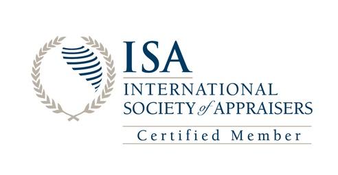 International Society of Appraisers Certified Member